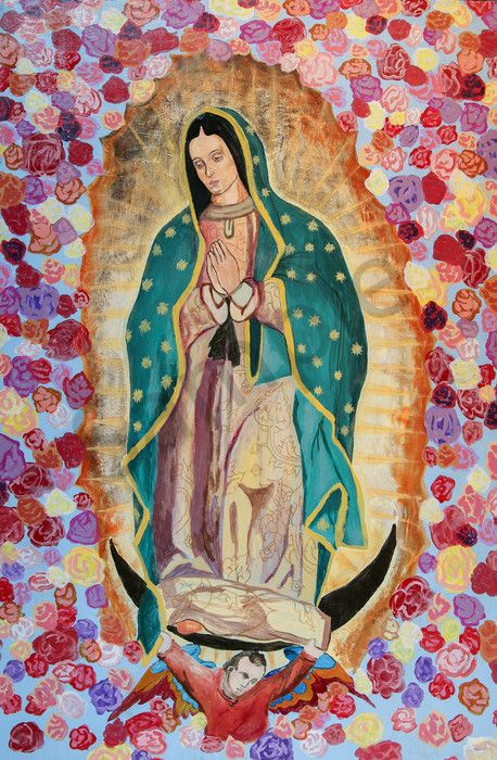 Our Lady Of Guadalupe Art Print Christian Art Prints For Sale