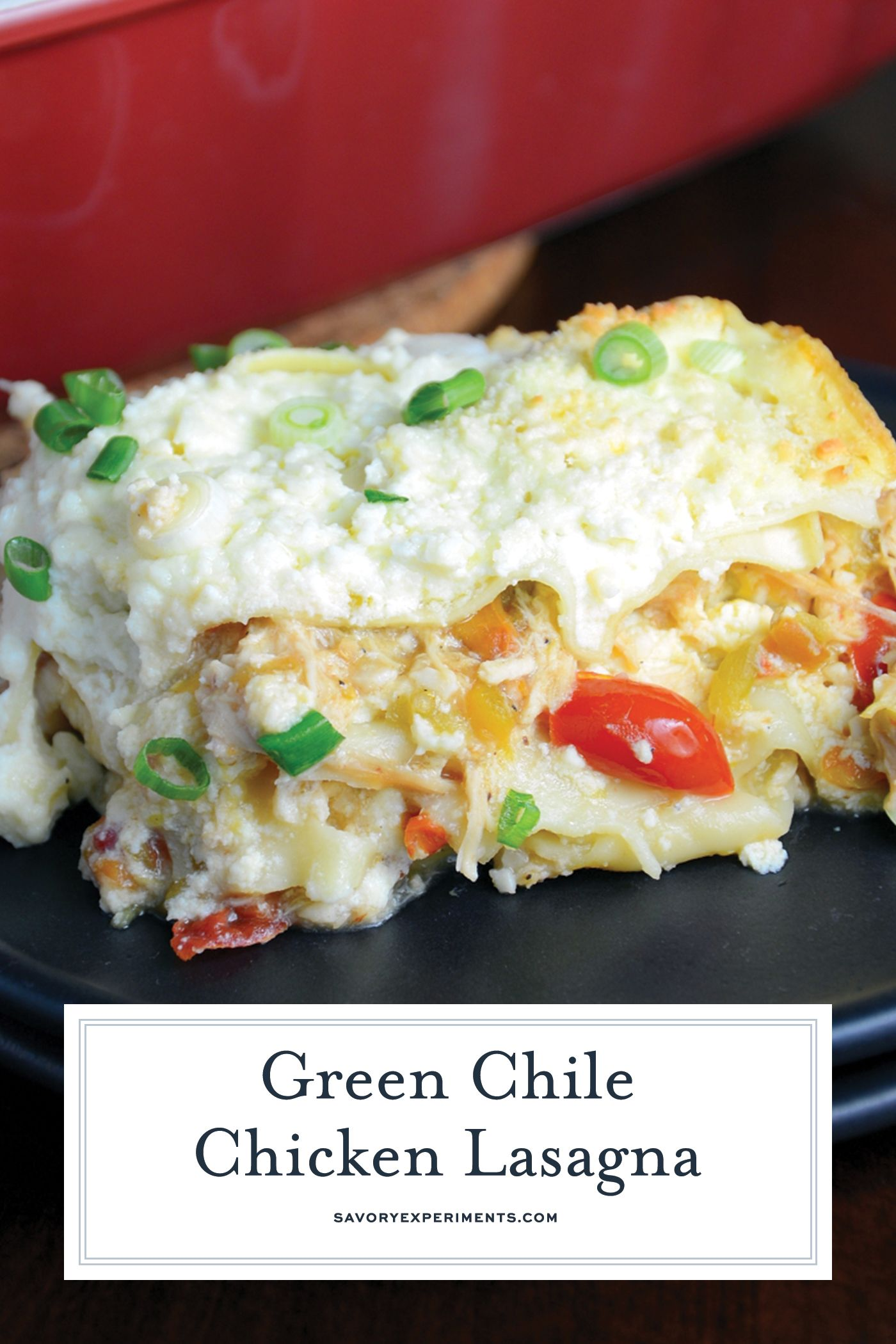 How to make green chile chicken lasagna recipe