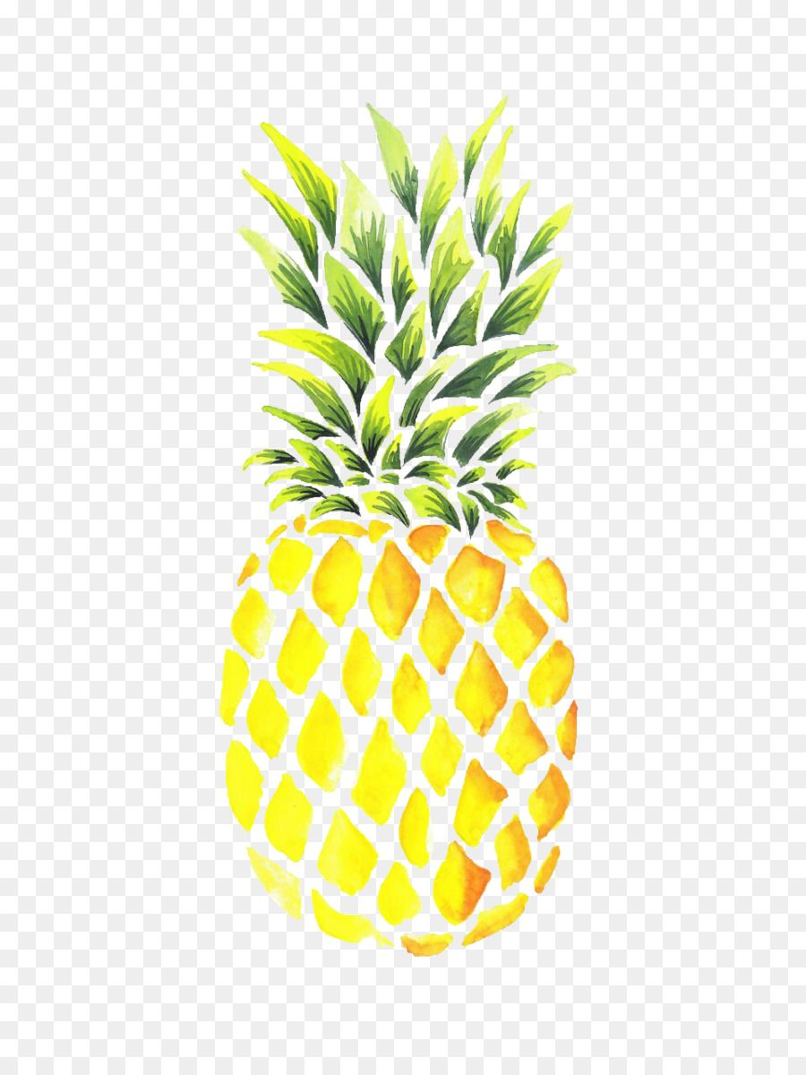 Pineapple Watercolor painting Drawing Portable Network ...