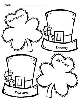 """St. Patrick's Day March Writing Activities """"The Night ..."""