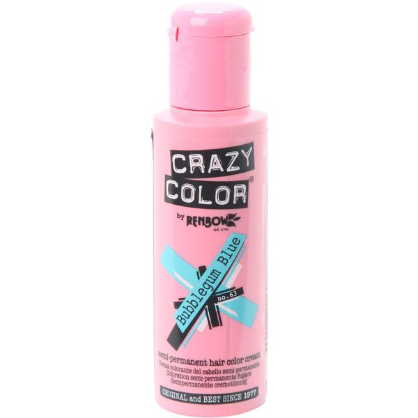 Crazy Color Bubblegum Blue Semi Permanent Hair Dye Hot Topic 9