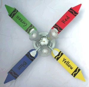 ceiling+fan+with+up+and+down+lighting | Ceiling Fans in Kids Rooms ...
