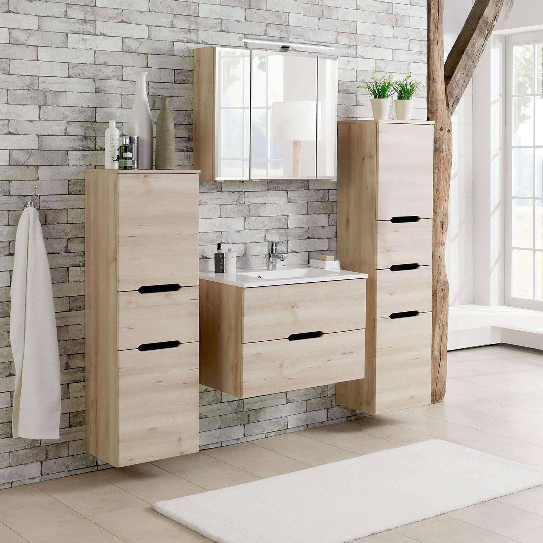 Waschtisch Belluno Badezimmer Set Spiegelschranke Furs Bad