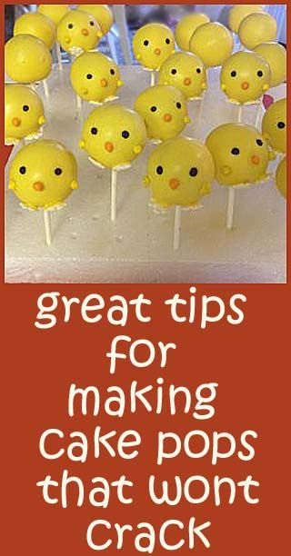 Problems with making cake pops