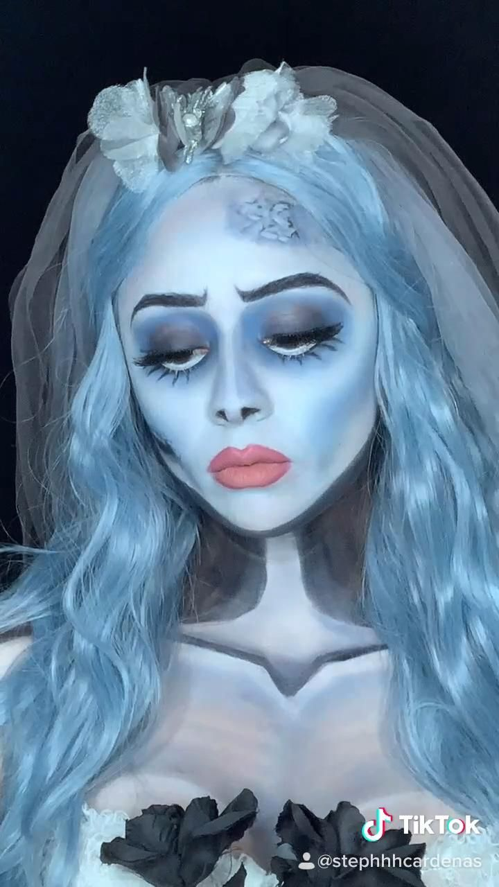 Emily The Corpse bride makeup