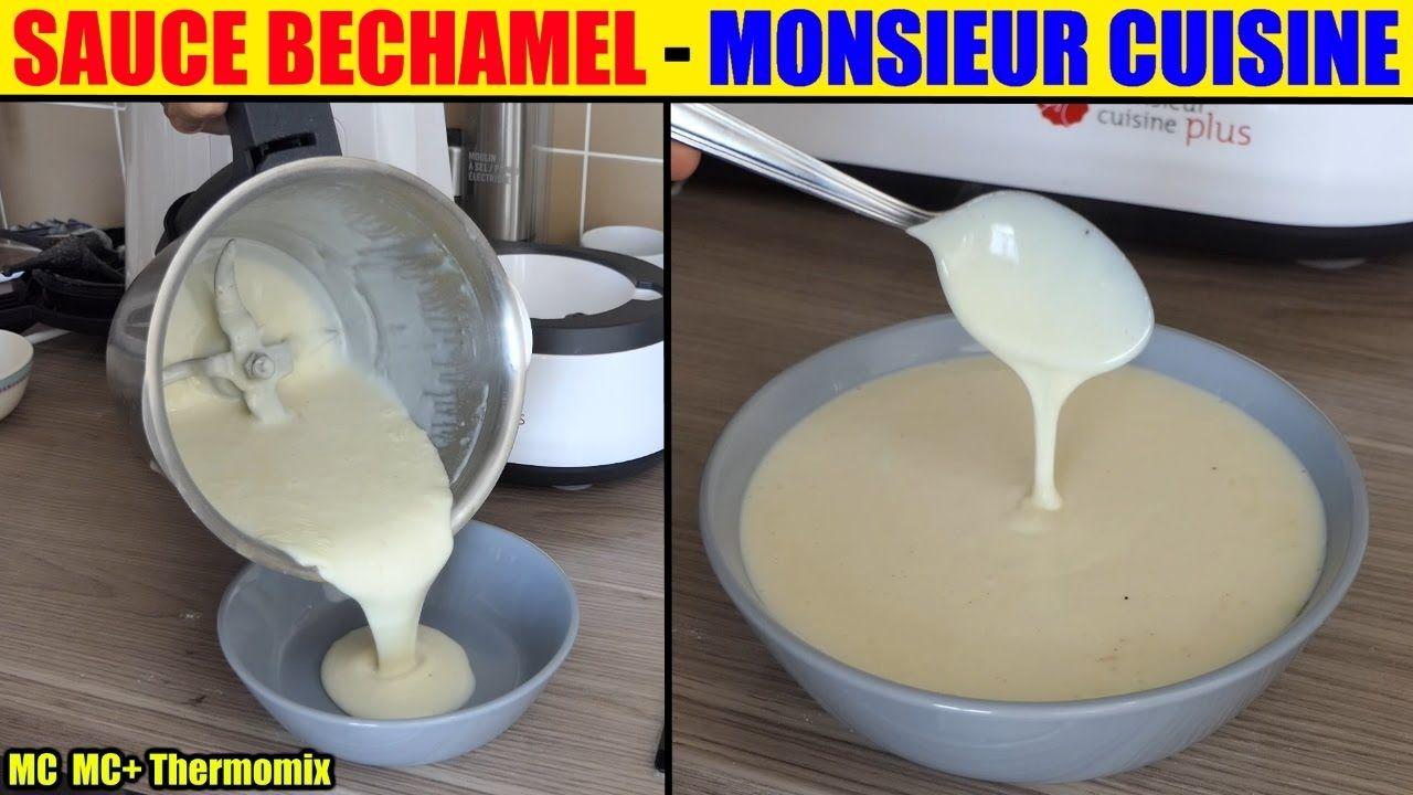 Sauce Bechamel Monsieur Cuisine Plus Lidl Silvercrest Thermomix Skmk 1200 Crepes