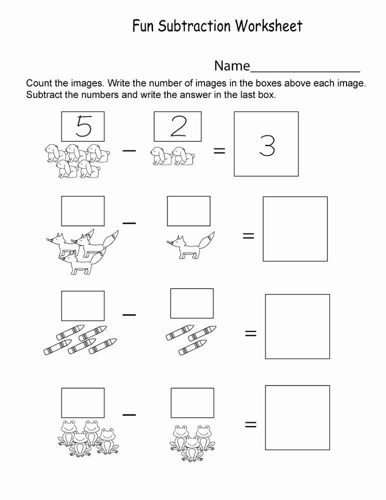 Free Kindergarten Worksheets Kindergarten Math Worksheets Math Worksheets Subtraction Worksheets