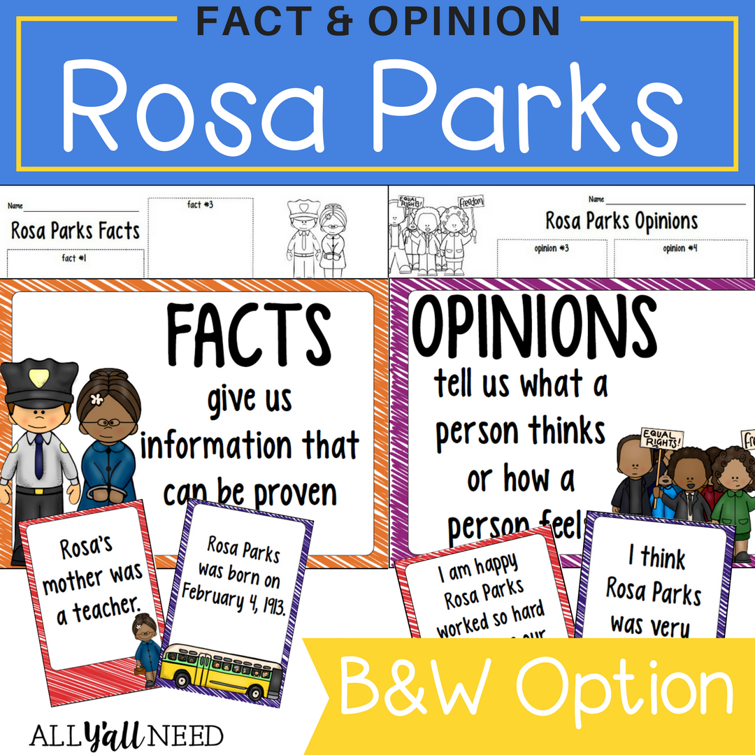 Rosa Parks Fact And Opinion