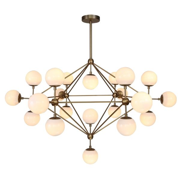 Lighting Modo Gold Chandelier