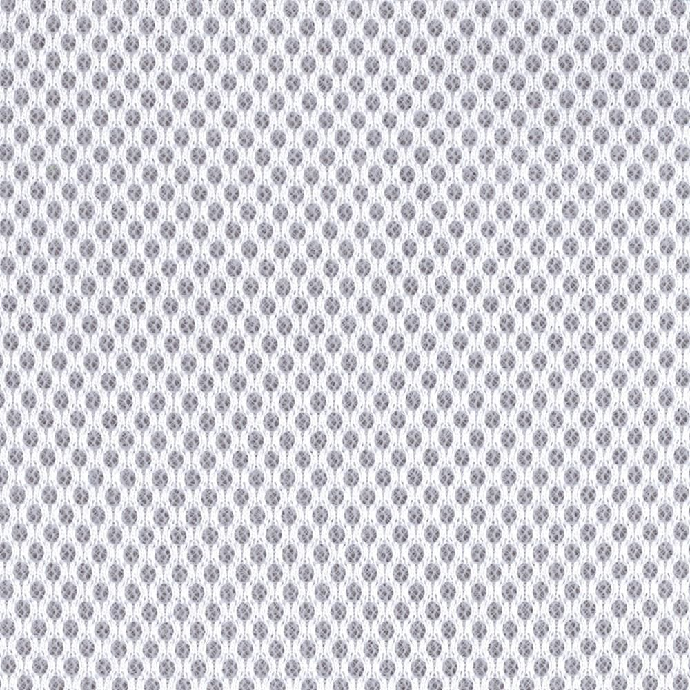Spacer Mesh White This 2mm Thick Spacer Mesh Fabric