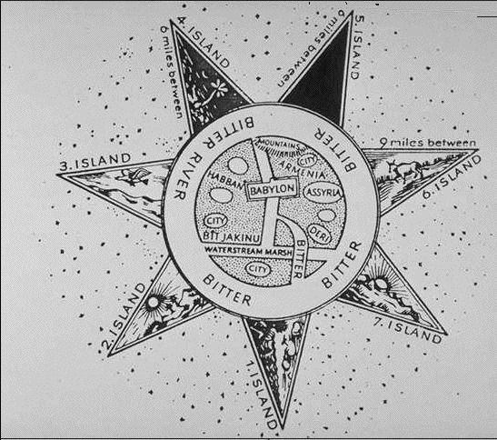 Image result for the enki-ea seven pointed star