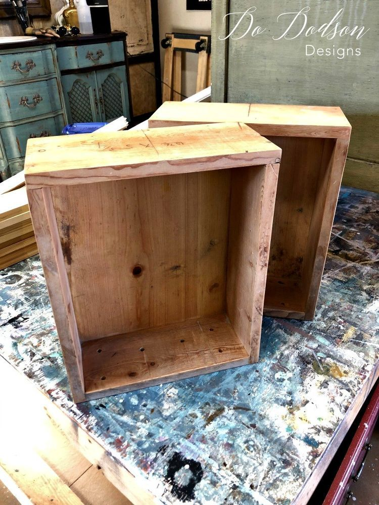 How To Make A Decorative Wooden Box How To Make Decorative Shelves The Easy Way  Decorative Shelves