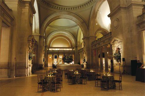 Great Hall of the Metropolitan Museum of Art- Dream Wedding Venue