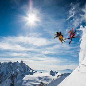 Jumping Legends with Candide Thovex & Guerlain Chicherit