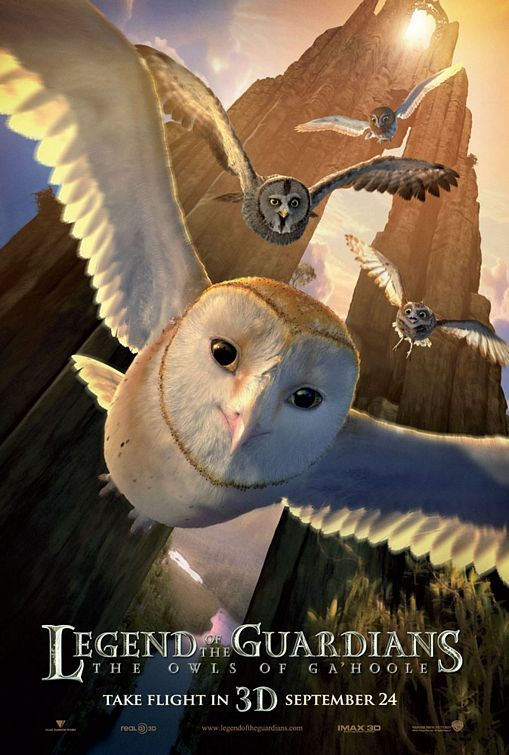 Legend Of The Guardians The Owls Of Ga Hoole Movie Poster 11 Legend Of The Guardians Owl City Ga Hoole