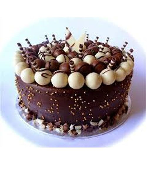 Beautiful Chocolate Birthday Cake Food Chocolate Cake Cake