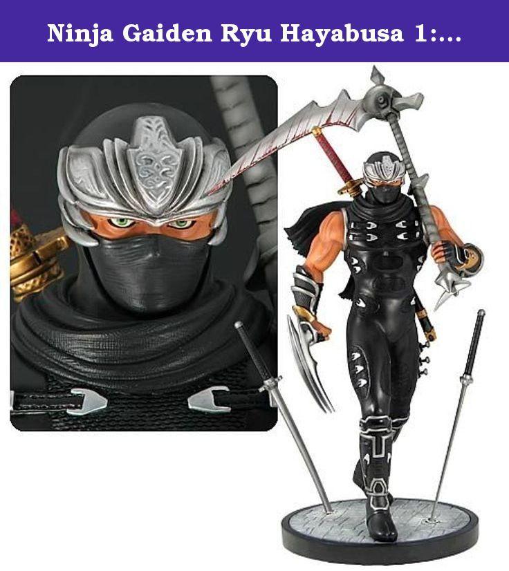 Ninja Gaiden Ryu Hayabusa 1 4 Scale Statue Ninja Gaiden Ryu