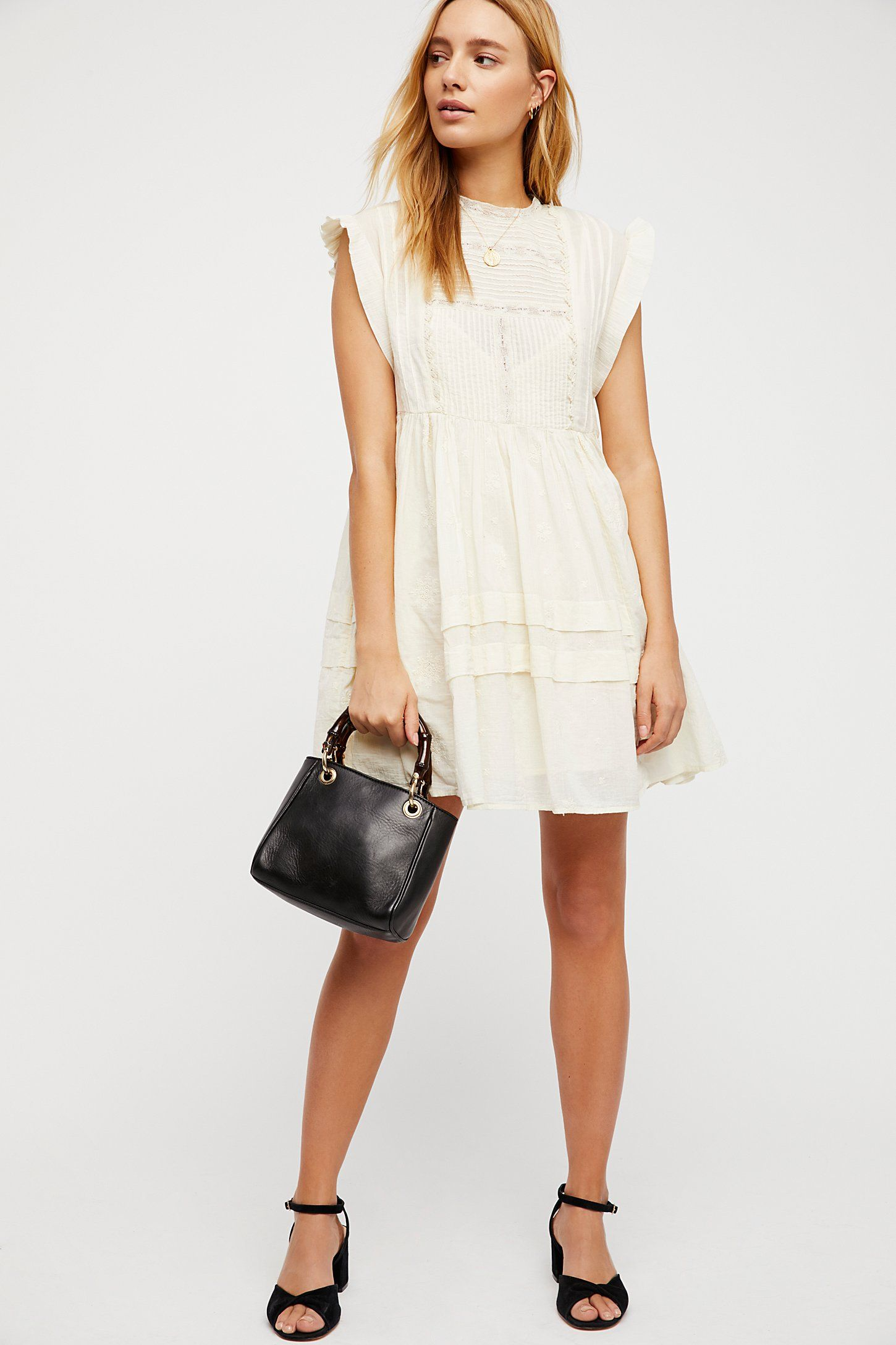 aff6b4ff5c62a5 Shop our Nobody Like You Embroidered Mini Dress at FreePeople.com. Share  style pics with FP Me
