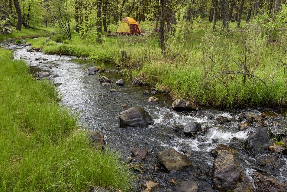 South Dakota Camping   Black hills and badlands, Badlands ...