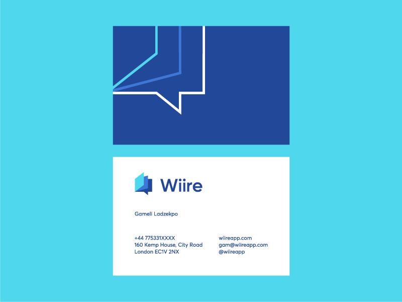 Wiire business cards by deividas bielskis design popular wiire business cards by deividas bielskis design popular dribbble shots colourmoves Images