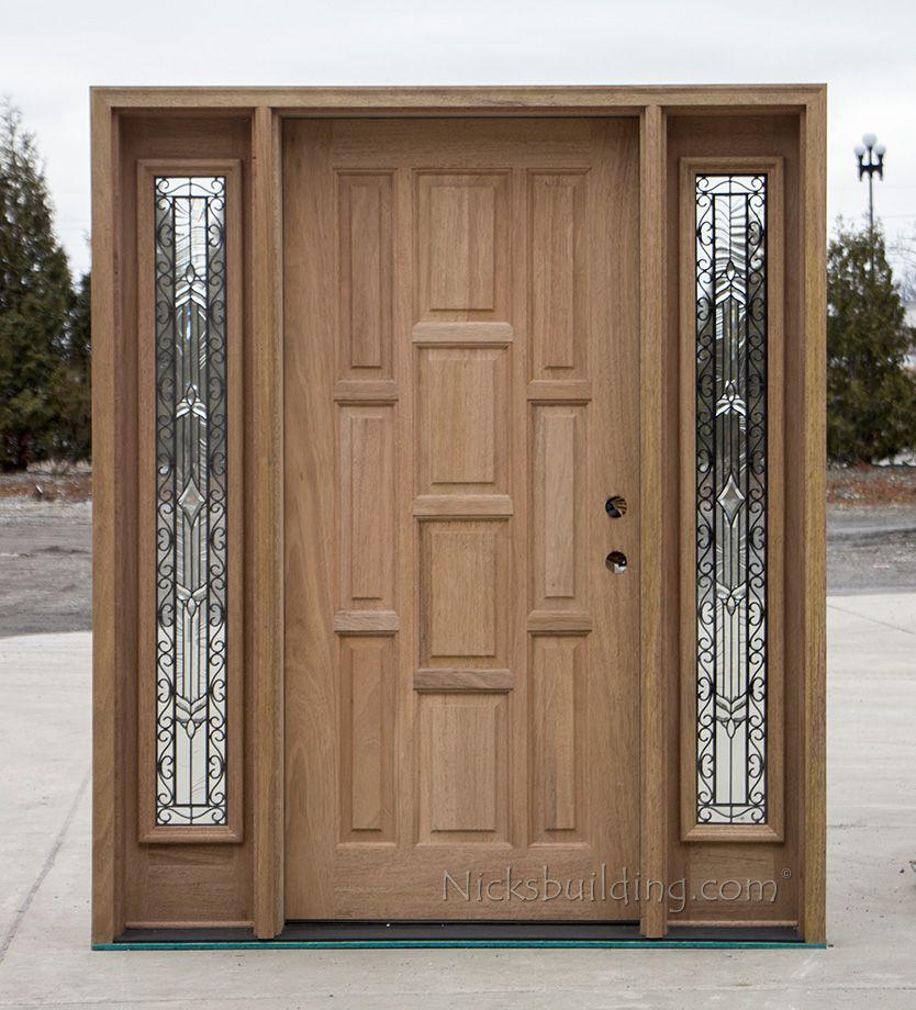 Porta De Entrada Classica Em Madeira E Vidro Classic Entrance Door In Wood And Glass Puerta De E Wooden Doors Interior Wood Doors Interior Door Design Wood