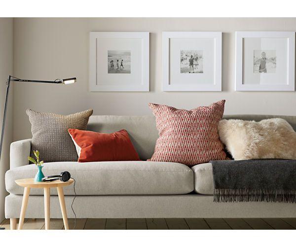 Profile 11x14 Frame Modern Bedroom Furniture Sheepskin Pillows