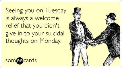 Why you should check in with your friends on tuesdays