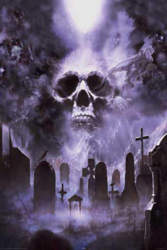 Pin Von Danny Diaz Auf Halloween Friedhof