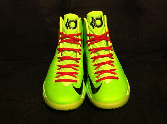 sports shoes a3a42 54881 Kevin durant shoes 2013 KD V Grinch
