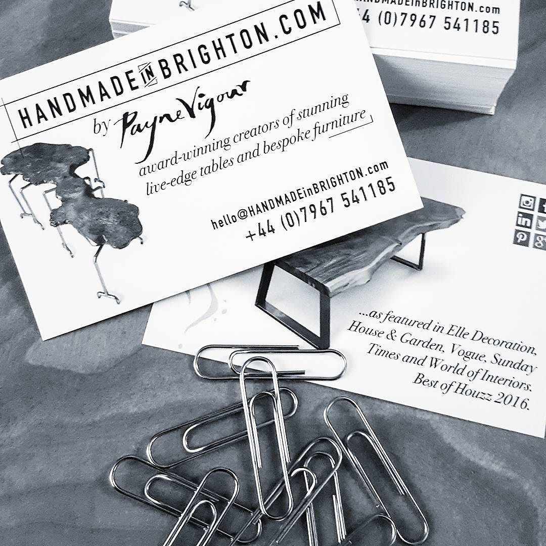 New business cards just arrived (thanks @solopress - great job) AND ...