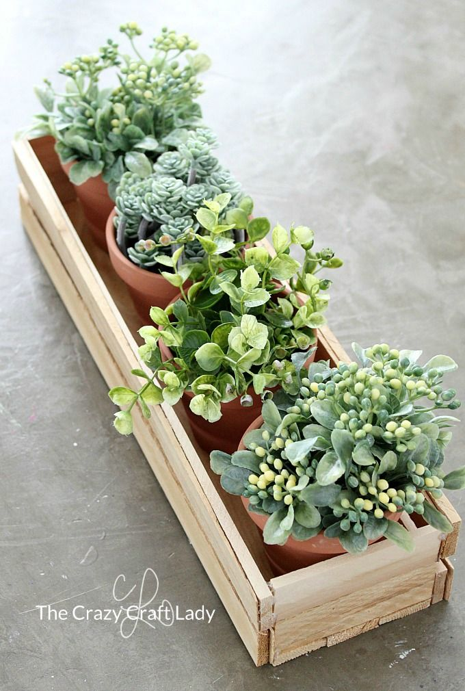 Make A Diy Wood Planter Box From Wood Shims Planten Decoratie Voortuin