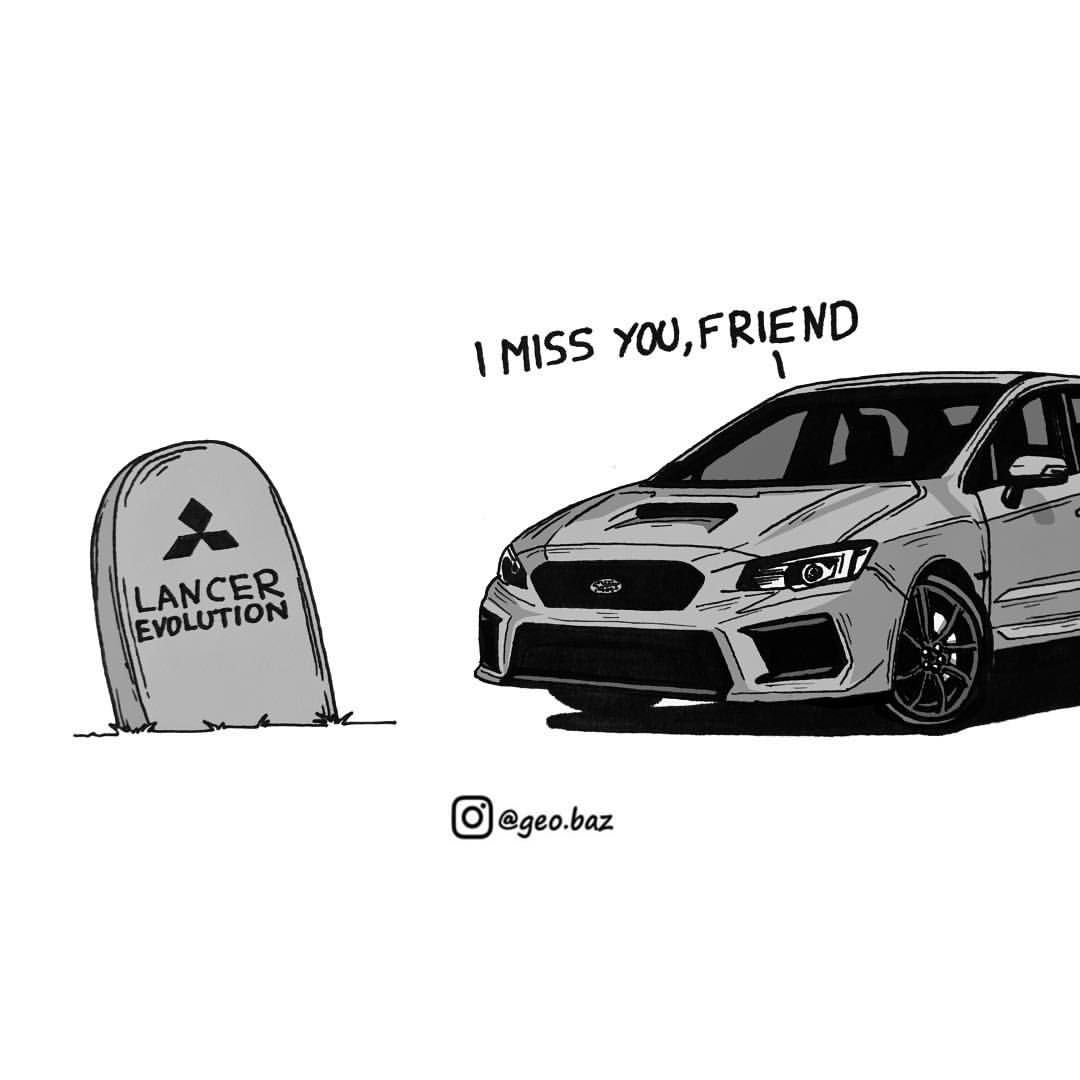 Why am I crying rn? #car #art #meme #memes #illustration