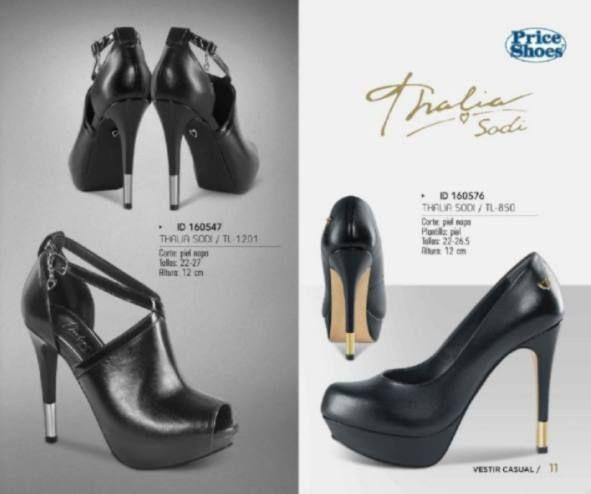 3d8820cf01 Tacones Thalia Sodi. Zapatillas de moda para mujer.  fashionista  cool   look  priceshoes  thaliasodi