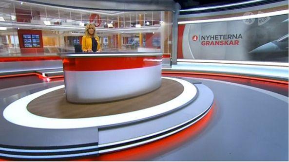 Tv4 Nyheterna Tv Set Design Tv Design Set Design