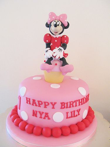 Minnie Mouse Cake Learn How To Decorate Cakes Visit Online Cake Decorating Classes On Htt Cake Decorating Courses Cake Decorating Classes Minnie Mouse Cake