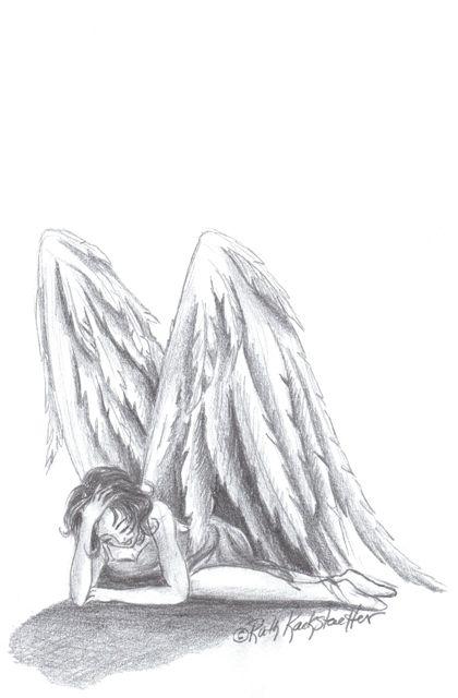 Fallen Angel 3 With Images Angel Drawing Fallen Angel Angel