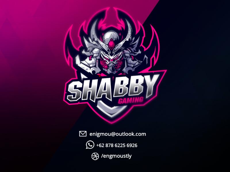 Shabby Game Logo Design Logo Illustration Design Game Logo