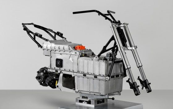 Bmw Showt De C Evolution Elektrische Scooter Voertuigen