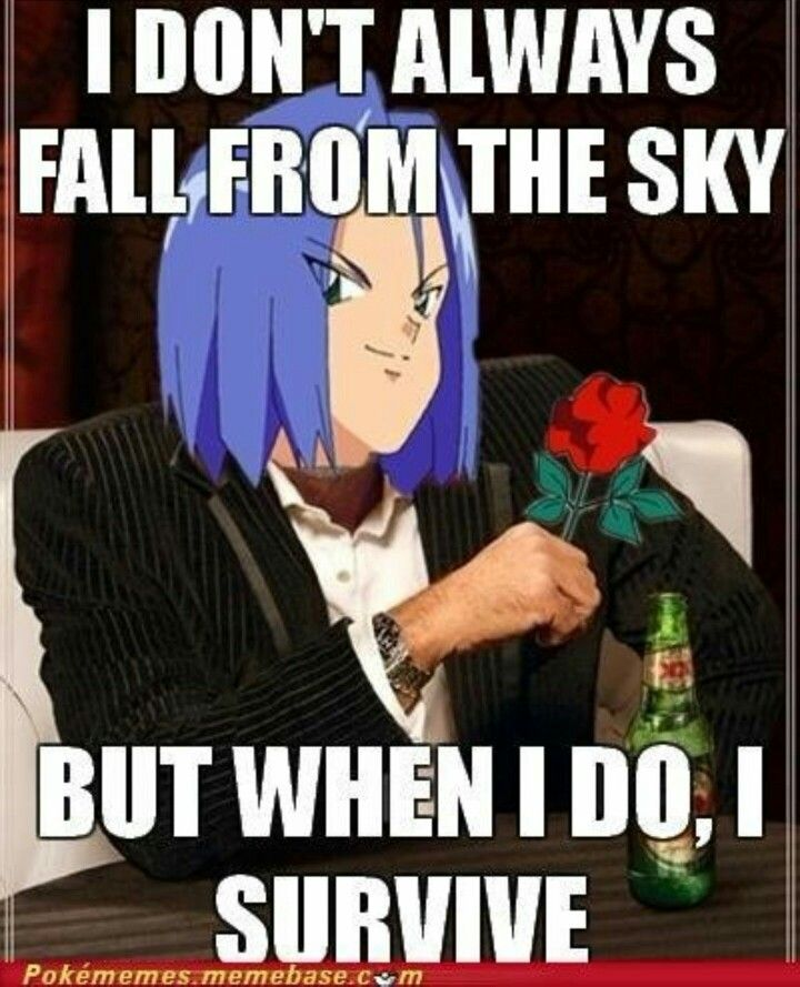 He's even holding a rose