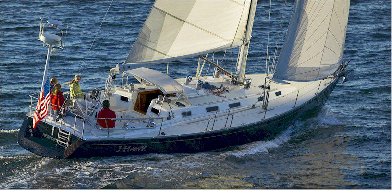J/44 sailboat - yes! I know how to handle these J/44's pretty well.