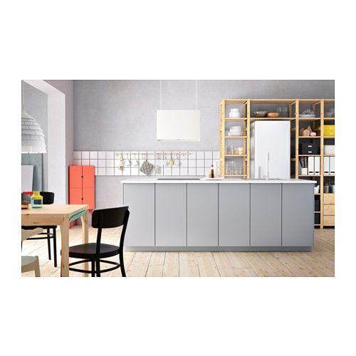 veddinge t r grau k chen k che ikea k che und graue. Black Bedroom Furniture Sets. Home Design Ideas
