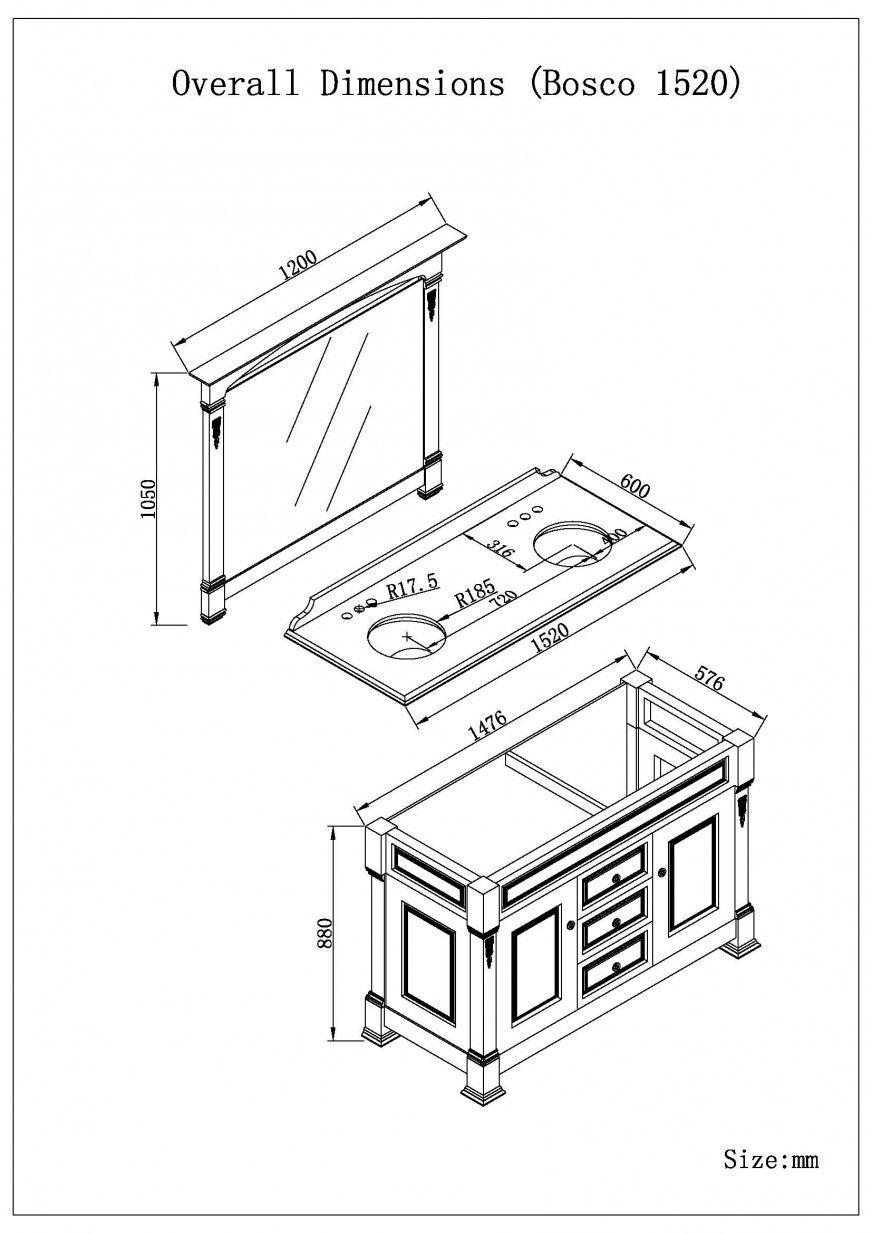 Bathroom Vanity Dimensions Standard Regarding For Cabinet Height