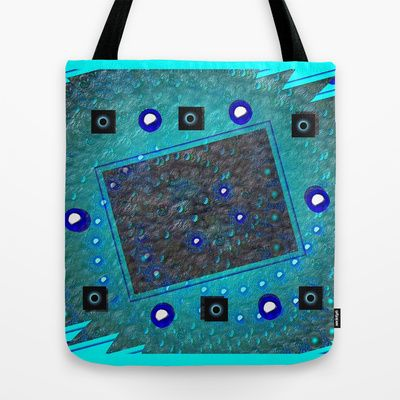 Dots series # 207 Tote Bag by Mittelbach Marenco Florencia - $22.00