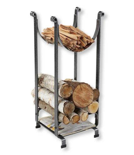 Hearthside Wood Rack: Fireplace and Hearth at L.L.Bean | Gift Ideas ...