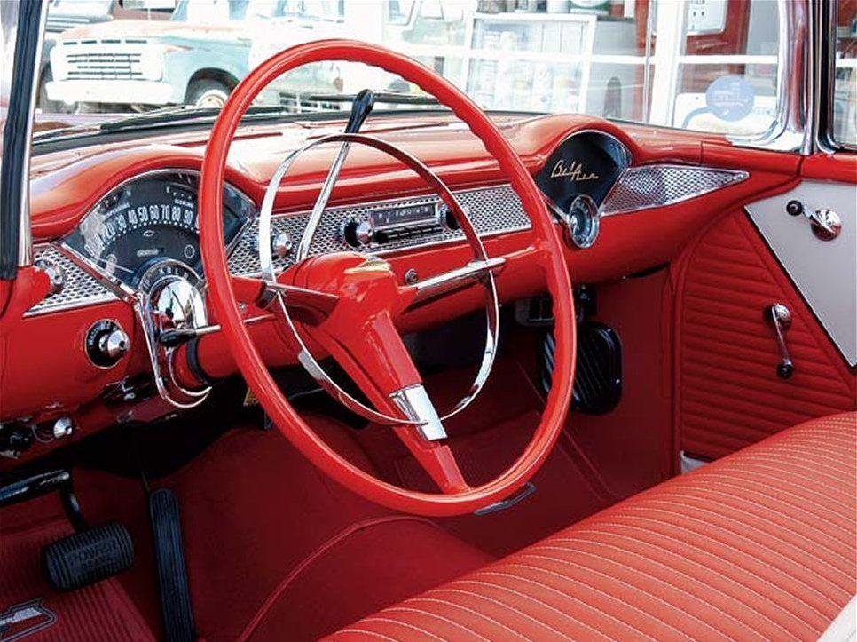 1955 Chevy Bel Air Dash 1955 Chevy 1955 Chevrolet Chevrolet