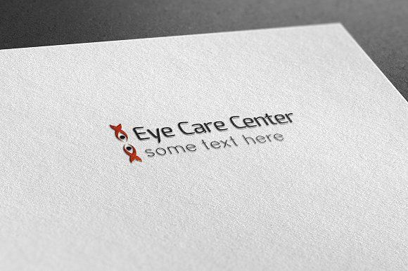 Eye Care Center Logo by BdThemes on @creativemarket