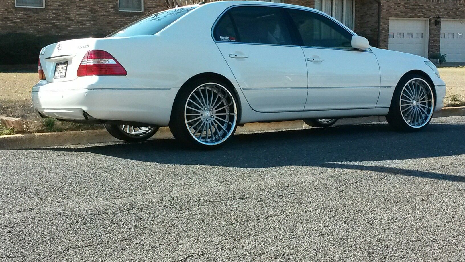 Ls430 Staggered On 22s Ls430 Pinterest