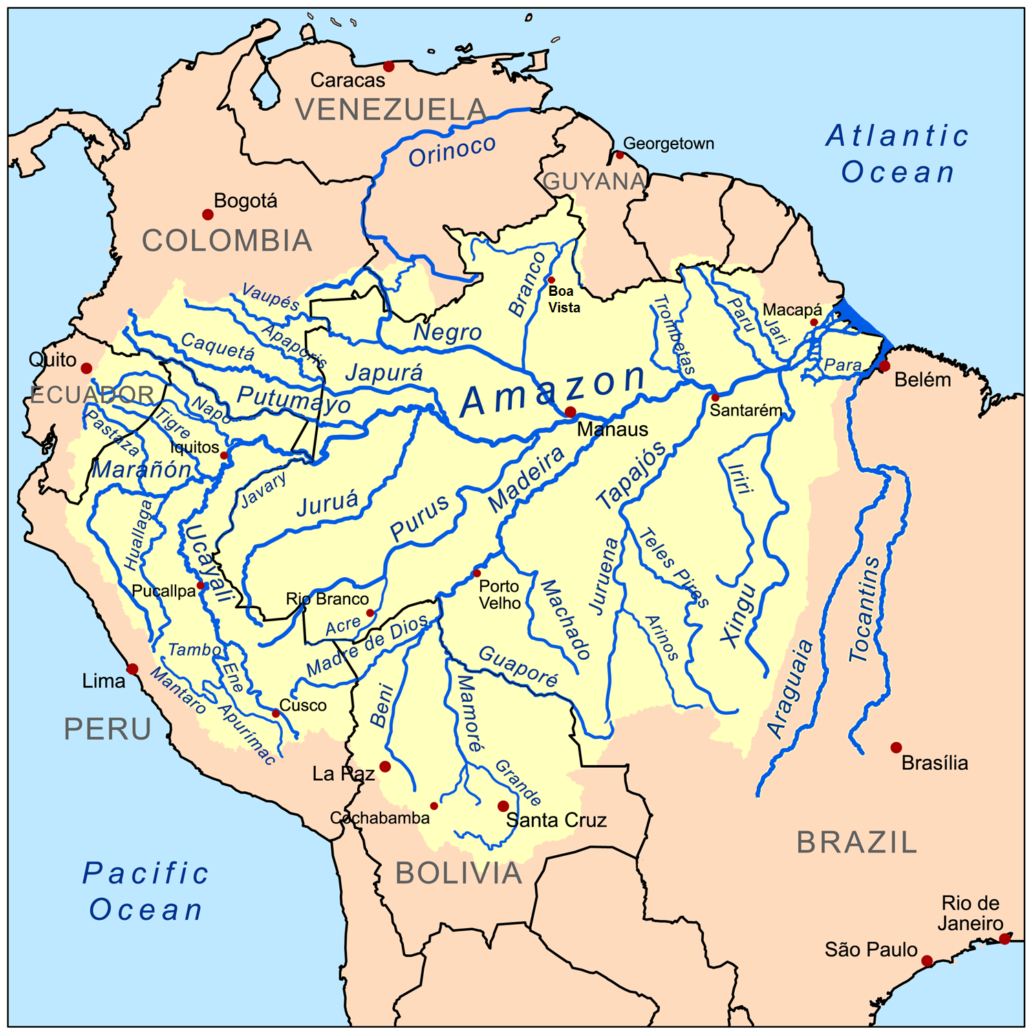 Pin By Nidia Rodriguez On Reference Earth Map Amazon River Bolivia Travel Amazon Rainforest