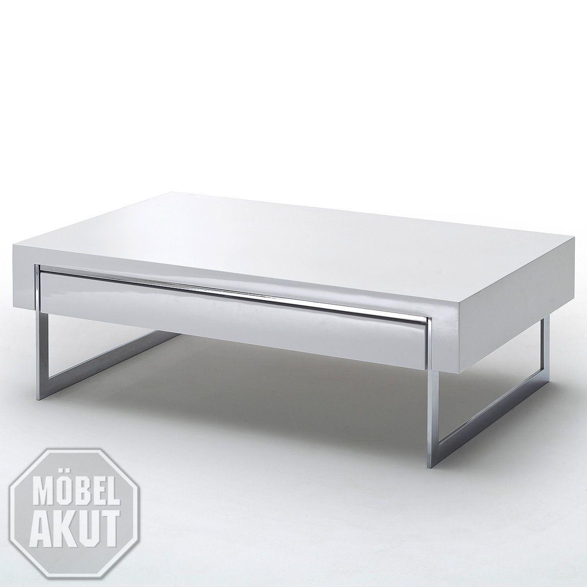 Couchtisch Cooper Beistelltisch Tisch In Weiss Hochglanz Metall Chrom 110 Cm Ebay Couchtische Wohnzimmer Tisch Weiss Couchtisch Modern