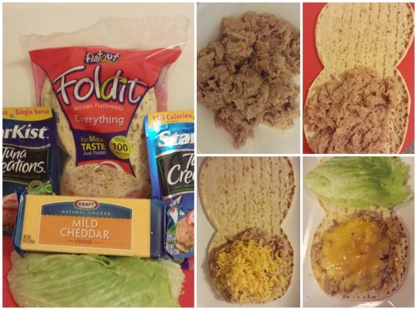 how to make a healthy tuna melt